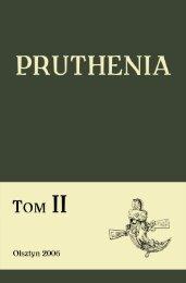 Mity i legendy Prusów