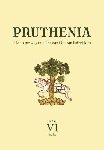 Studia Mythologica Slavica, 1998–2010 - Rocznik PRUTHENIA