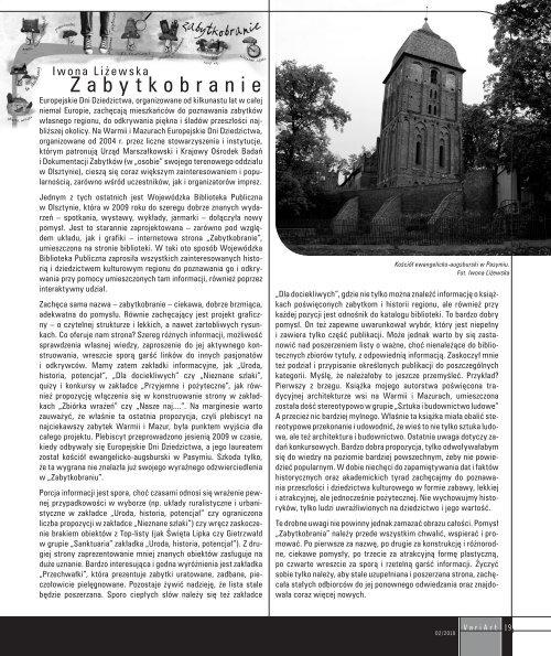 2/2010 - plik pdf - Wojewódzka Biblioteka Publiczna