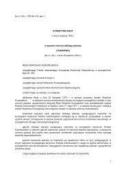 Dz.U. UE.L. 1979 Nr 103, poz. 1 Dyrektywa Rady 79/409/EWG z dnia