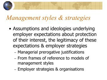 management prerogatives Western reserve law review are to be drawn5 it is this overlapping of the two fields of claimed au- thority that causes much labor-management strife when the topic of man-agement's prerogatives or labor's rights is raised in a labor dispute.