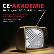 CE-AkAdEmiE - WISI - Wilhelm Sihn AG