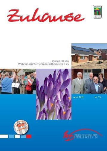 INFO - Wohnungsunternehmen Dithmarschen eG