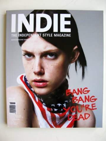 INDIE - the independent style magazin, #8, 2008 (PDF 1,4 MB)