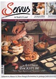 Servus Magazin, November 2012 (PDF 3,3 MB)