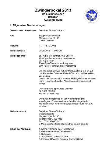 Zwingerpokal 2013