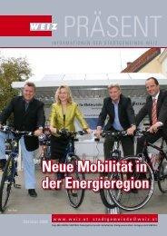 Neue Mobilität in der Energieregion - Weiz