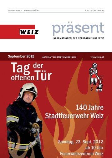 September 2012 - Weiz