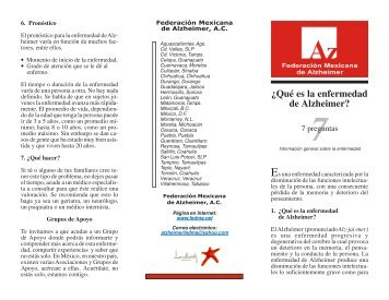 7 ¿Qué es la enfermedad de Alzheimer? - Alzheimer Monterrey