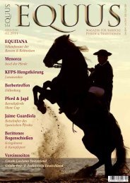 Equus nr 02/2011, 04-2011 Artikel über die Rasse Pura Raça ...