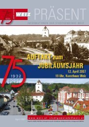 Folge 273 - Stadtgemeinde Weiz