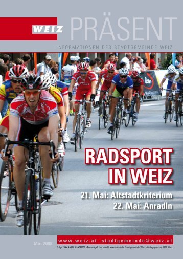 RADSPORT IN WEIZ