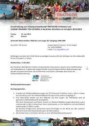 Ausschreibung - Schulamt für die Stadt Krefeld