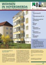 Komplexmodernisierungen 2007 - Wohnungsgesellschaft ...