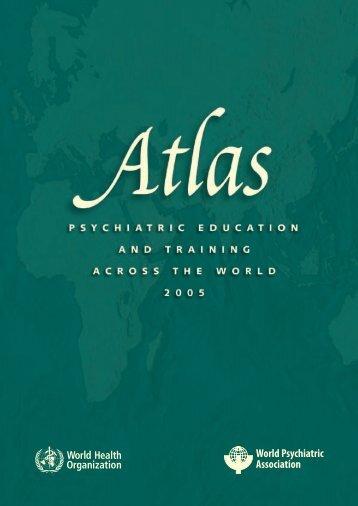 Atlas: Psychiatric Education - World Health Organization