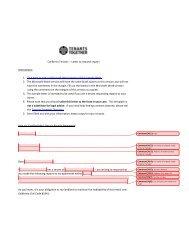Repair Request - Tenants Together