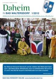 Ausgabe März 2012 - Gemeinde Bad Waltersdorf