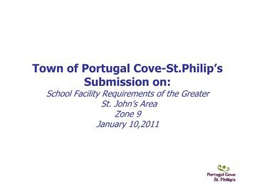 Town of Portugal Cove-St.Philip's Submission on