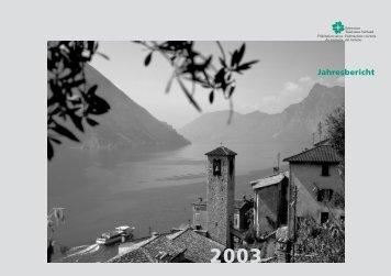 Jahresbericht - Schweizer Tourismus-Verband