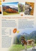 Die goldene Jahreszeit bricht an! - Wohlfühlhotel Frohsinn - Seite 3
