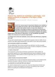 Victoria Tur, doctora en sociología y psicología: «Los ... - Blogs UA