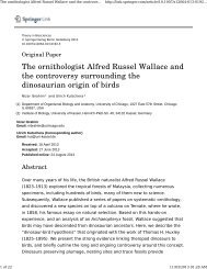 The ornithologist Alfred Russel Wallace and the ... - Mrbrklyn.com