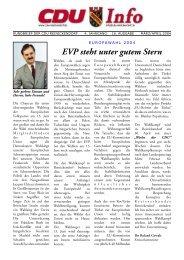 EVP steht unter gutem Stern - CDU Reinickendorf