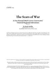 The Scars of War
