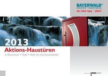 Aktions-Haustüren 2013 (Download als PDF-Dokument mit 28 MB)