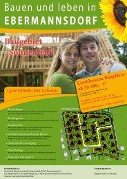 Bauen und leben in Ebermannsdorf