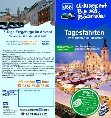 03 83 78-2 71 32 Info-Hotline -Bus - UBB Usedomer Bäderbahn ...