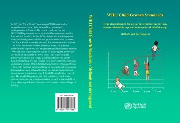 WHO Child Growth Standards - World Health Organization