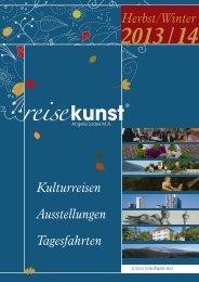 Katalog - Reisekunst