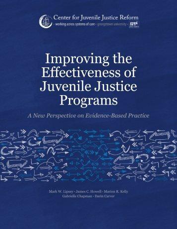 Juvenile Justice Programs