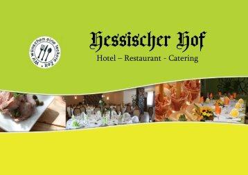 Hotel – Restaurant - Catering - Hotel-Hessischer-Hof.com