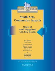 Youth Acts Community Impacts