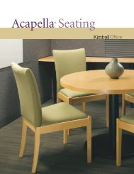 Acapella Seating