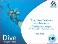 Tips New Features and Model to Dashboard steps