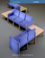 Forum Seating Masterful Blends of Design and Engineering