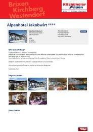 Alpenhotel Jakobwirt ****