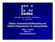 Gedae Automated Multithreading and System Requirements for Interoperability