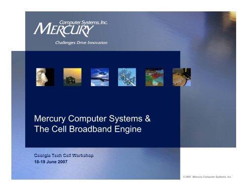 Mercury Exhibit Slides - Georgia Tech