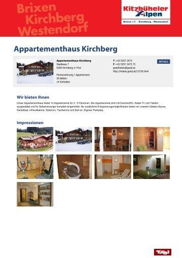 Appartementhaus Kirchberg