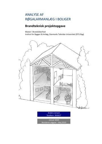 ANALYSE AF RØGALARMANLÆG I BOLIGER