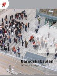 Beredskabsplan - Dansk Brand- og sikringsteknisk Institut