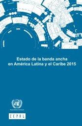 Estado de la banda ancha en América Latina y el Caribe 2015