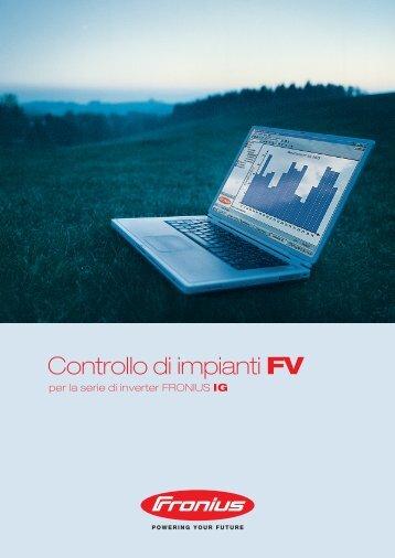 Controllo di impianti FV