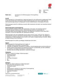 kommissorium - Dansk Brand- og sikringsteknisk Institut