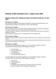 Rettelser til DBI retningslinje 232 (pdf)
