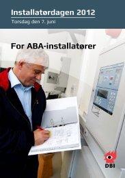 For ABA-installatører